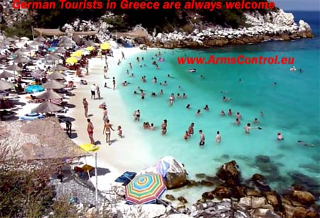 German Tourists Greece Security Safety
